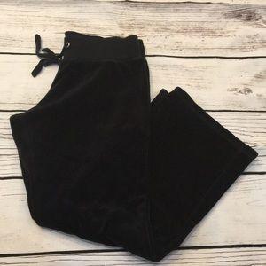 New York & Company black soft lounge pants Medium